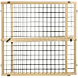 "North States MyPet 50"" Extra Wide Wire Mesh Petgate: Hassle free install with no tools. Pressure Mount. Fits 29.5""-50…"