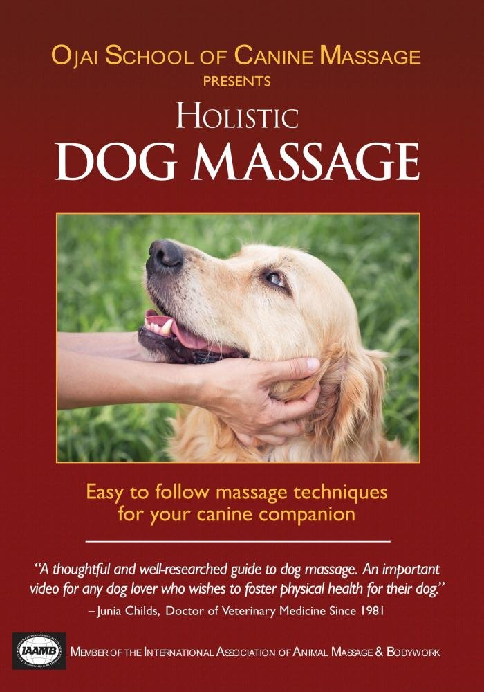 Amazon.com: Holistic Dog Massage: Ojai School of Canine Massage ...