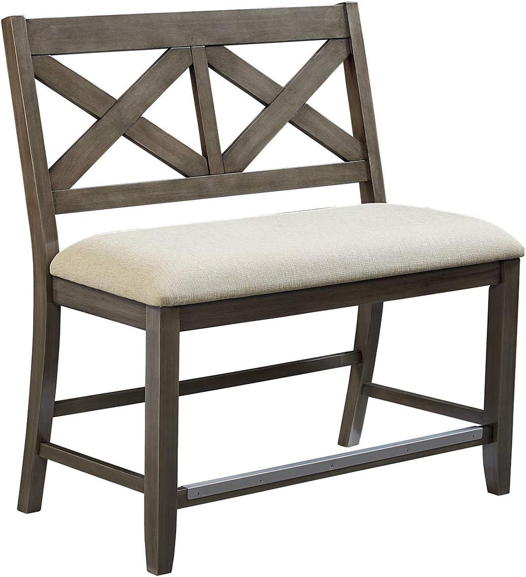 Standard Furniture Omaha Counter Height Bench