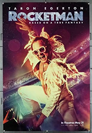 Rocketman (2019) Original U.S. One-Sheet Advance Style Movie ...