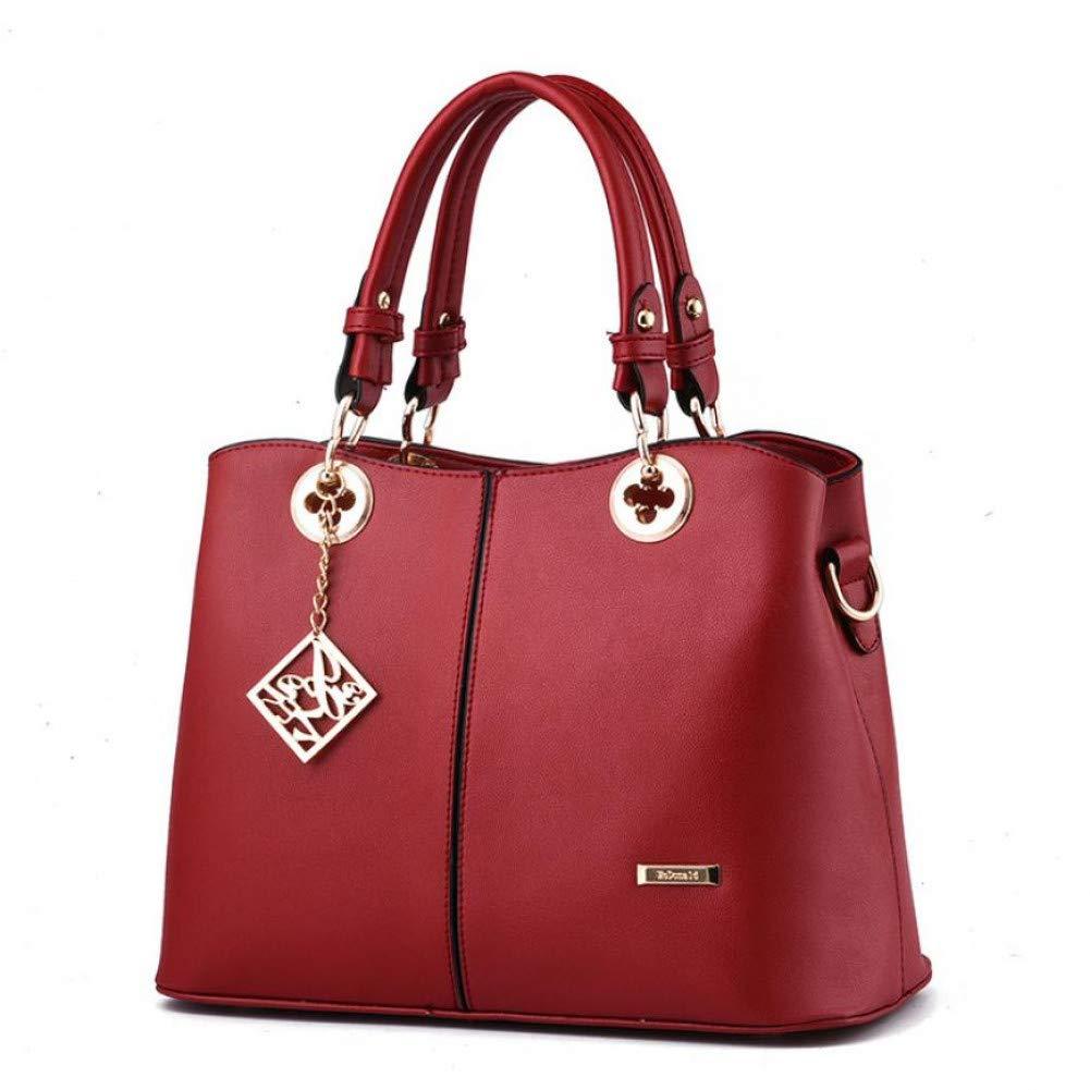 WWDDVH Mujer Tendencia Bolsos Simple Ocio Messenger Bag Gran Capacidad