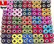 fils � coudre BOBINES DE FIL A COUDRE 100 BOBINES DE FIL A COUDRE couture polyester 300 m�tres sur chaque bobine Tyagi Craft