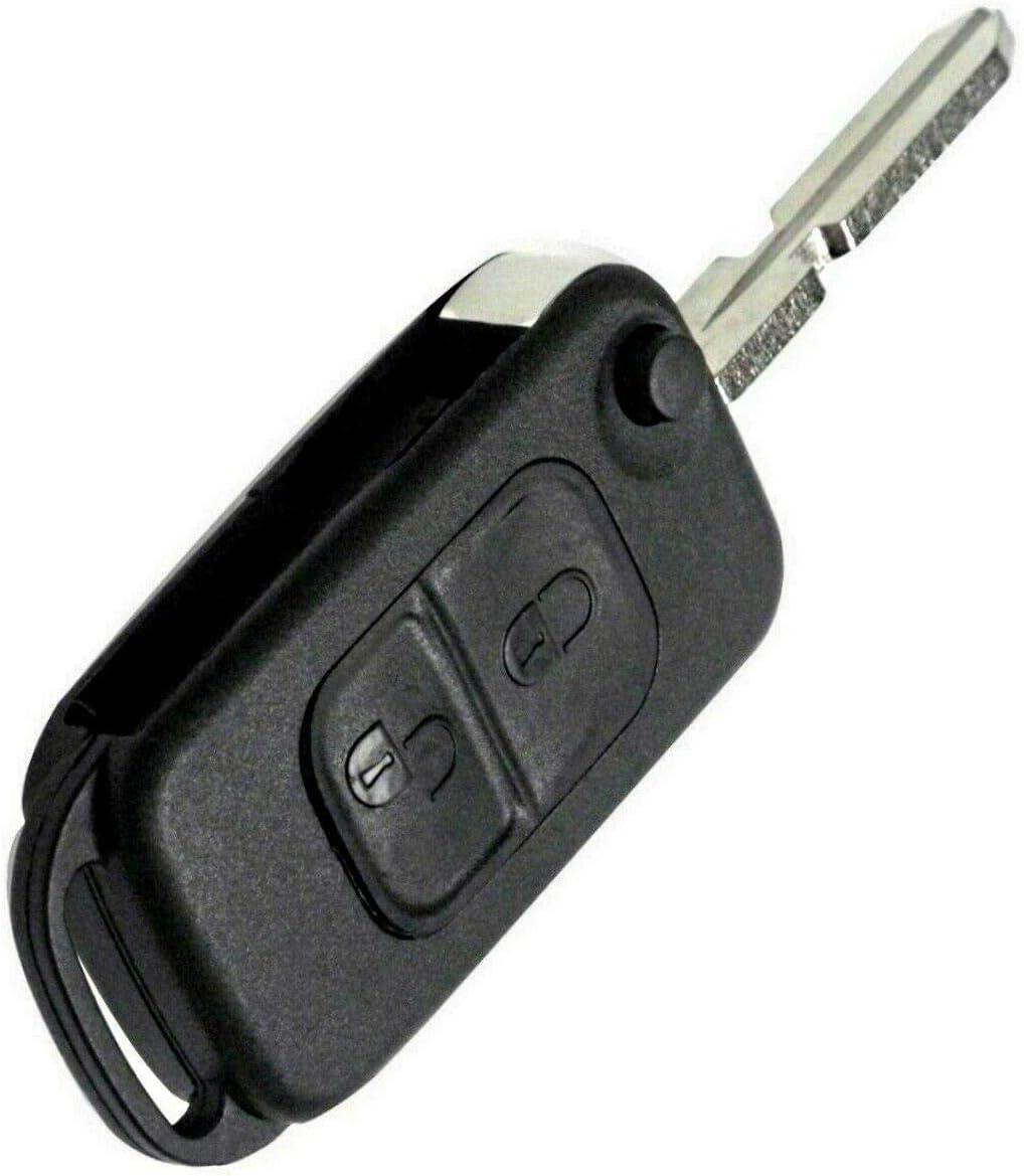Jurmann Mercedes Benz Schlüssel Gehäuse Fernbedienung Klappschlüssel Ks03no W168 W202 W203 S202 S203 C208 A208 W124 W210 A124 C124 S124 W210 S210 W460 W461 W463 W163 W140 C140 R129 R170 638 2 Amazon De