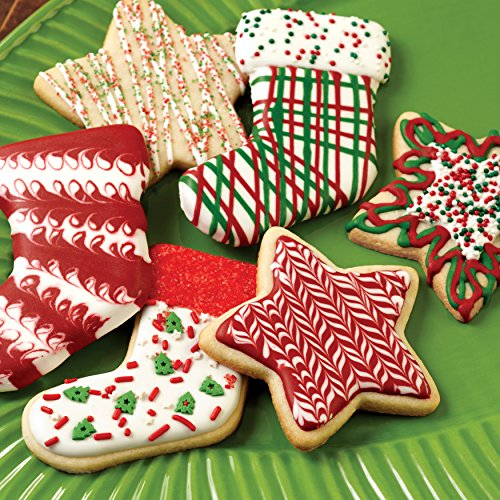 Wilton 2109-8429 Red and Green Holiday Cookie Decorating Icing, Multipack of 6, Assorted by Wilton (Image #7)
