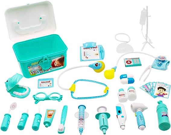 deAO Maletín de Doctor y Dentista Conjunto 2en1 Doctor y ...