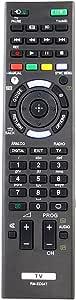 ALLIMITY RM-ED047 Replaced Remote Control for Sony Bravia TV KDL-40HX750 KDL-46HX850 KDL-40R473A KDL-46HX850
