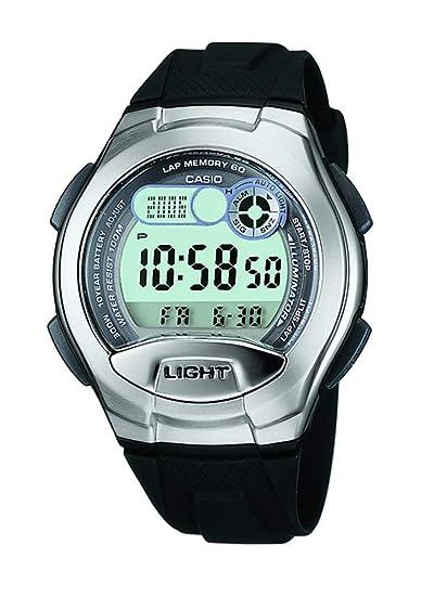 Casio Reloj Digital para Hombre de Cuarzo con Correa en Resina W-752-4BVES: Amazon.es: Relojes