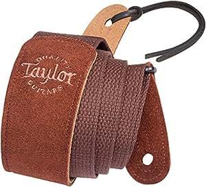 Taylor Web/Suede Strap Chocolate · Correas guitarra/bajo