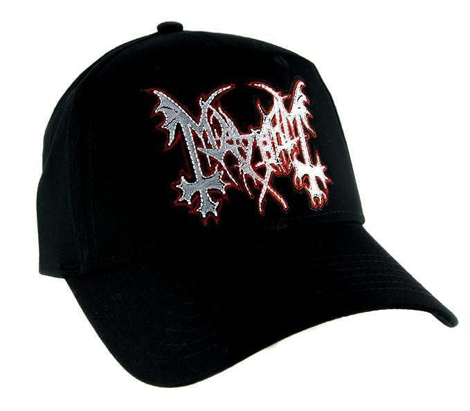 0fffef3b Image Unavailable. Image not available for. Colour: Mayhem Norwegian Black  Metal Hat Baseball ...