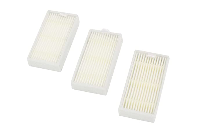vhbw Set de filtros de recambio antialérgicos para aspiradoras Ariete Briciola 2711, 2712.