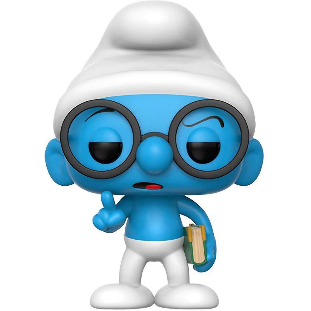 Compatible PET Plastic Graphical Protector Bundle #271 // 20122 - B Animation Vinyl Figure /& 1 POP Brainy Smurf: The Smurfs x Funko POP