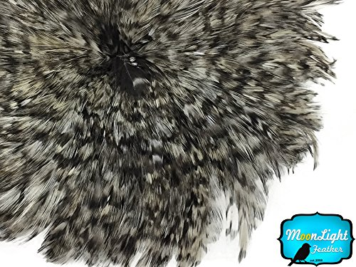 UPC 848314026527, 1 Yard - GREY CHINCHILLA Strung Rooster Neck Hackle Wholesale feathers (bulk)