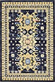 Cheap Unique Loom 3128714 Area Rug 6′ x 9′ Navy Blue