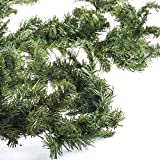 Factory Direct Craft 9 Foot long Artificial Canadian Pine Garland for Holiday Decor, Embellishing and Designing