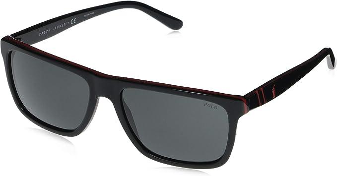 Ralph Lauren POLO 0PH4153 Gafas de sol, Red/Black, 58 para ...