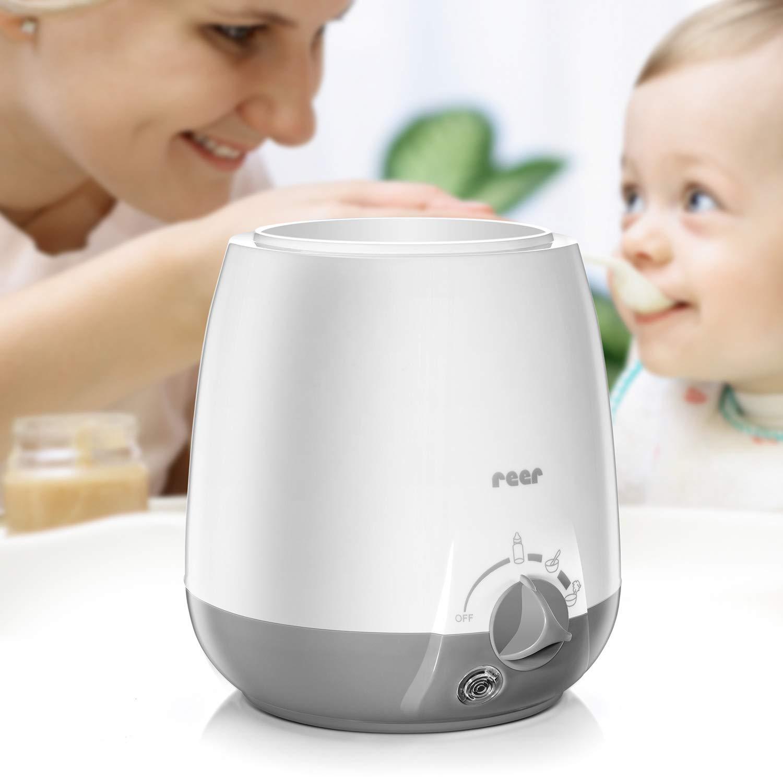 schnelle Erw/ärmung und Eier kochen mit LCD Bildschirm Auftauen 6 in 1 multifunktionaler Flaschenw/ärmer: Desinfektion SIMBR Flaschenw/ärmer Babykostw/ärmer W/ärmeschut