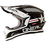 0623A-222 - Oneal 3 Series Afterburner Motocross Helmet S Black