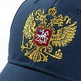 New Unisex 100% Cotton Outdoor Baseball Cap Russian Emblem Embroidery Snapback Fashion Sports Hats For Men & Women Patriot Cap