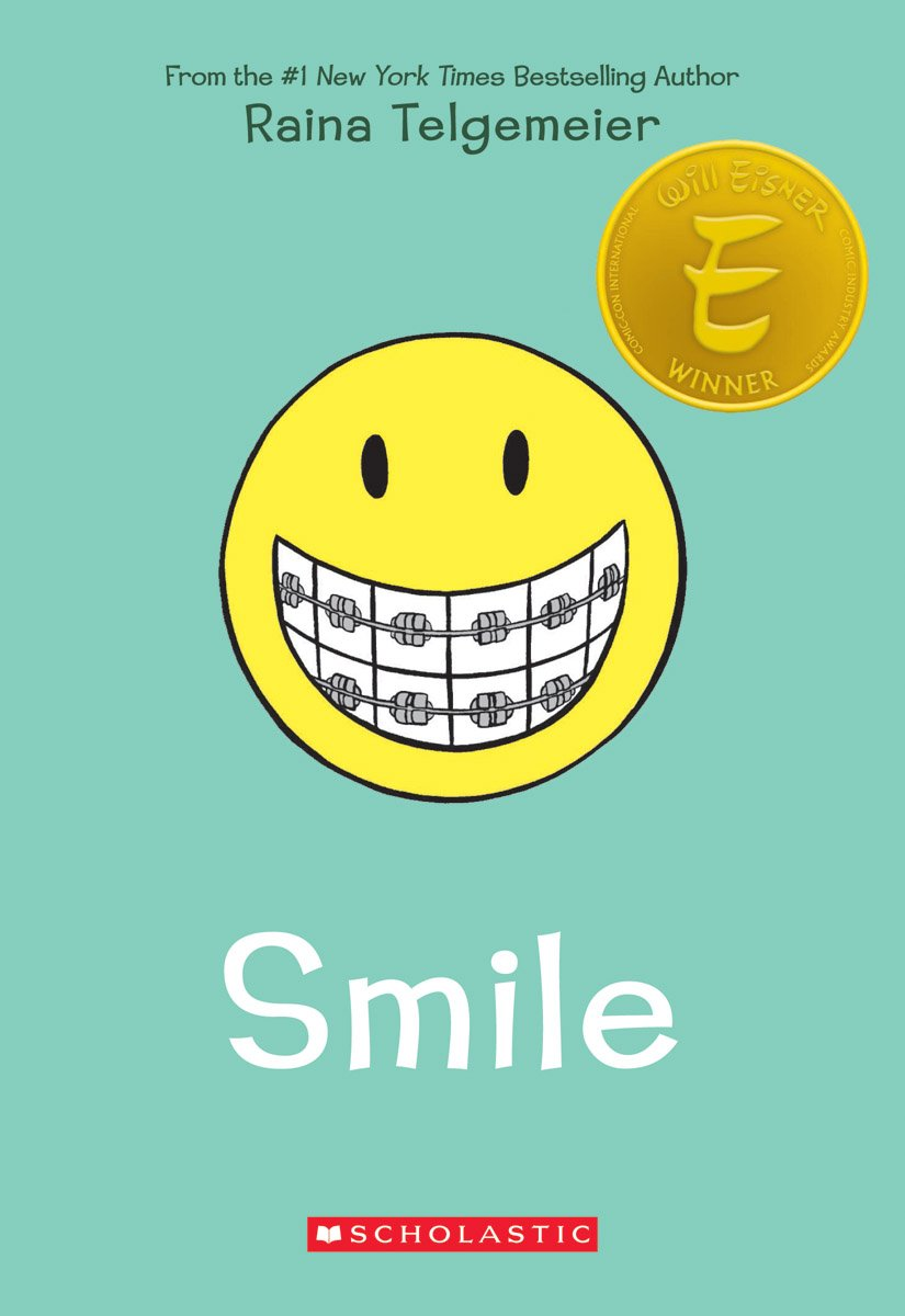 Image result for smile book cover