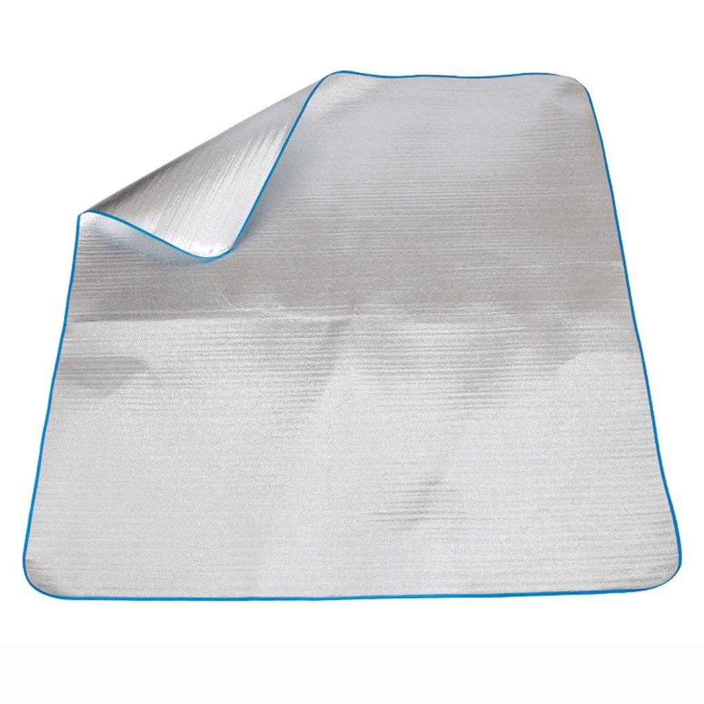 ERRU-Feuchtraum-Pad Double Side Picknick Camping Camping Camping Matten Wasserdichte Aluminium Folie Pad Mat Foldable (Größen optional) Waterproof Feuchtigkeit B073Q64L1D Picknickdecken Ausreichende Versorgung 4d9cdf