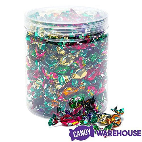 Chipurnoi Glitterati Candy - Fruit & Berry Medley: 150-Piece Jar