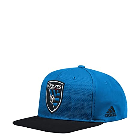 huge selection of 6523f e9d8c Image Unavailable. Image not available for. Color  adidas San Jose  Earthquakes Snapback Hat Authentic ...