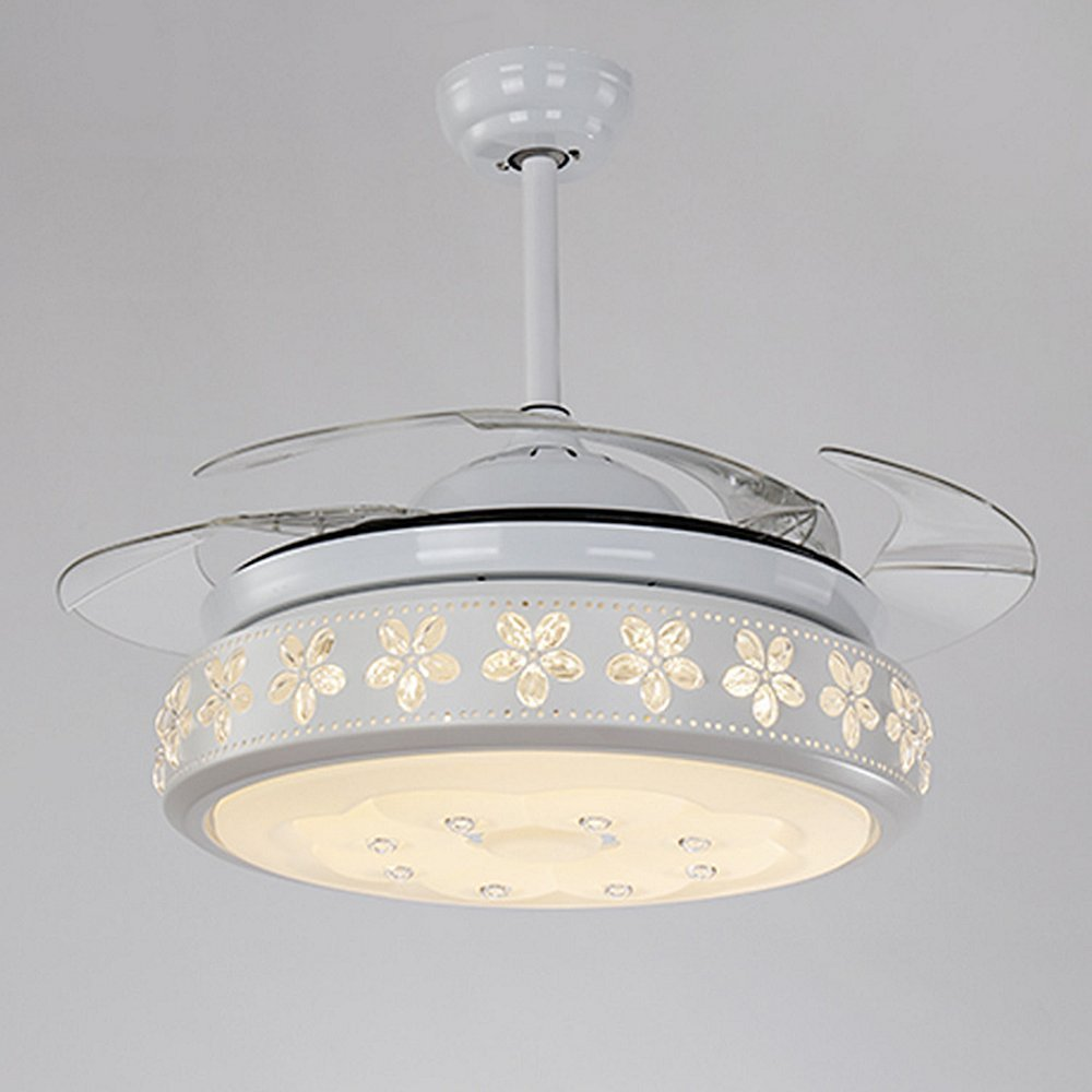 COLORLED 42 inch Led Ceiling Fans with Remote 36W Three Changing ...