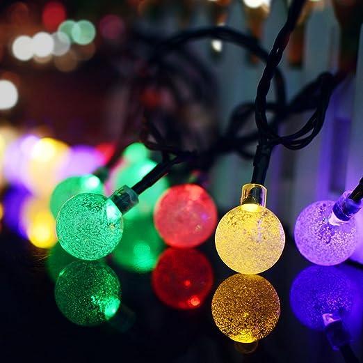 Solar String Lights 20 LEDs Outdoor/Indoor Fairy Lights Garden Patio String  Lights 4.8M