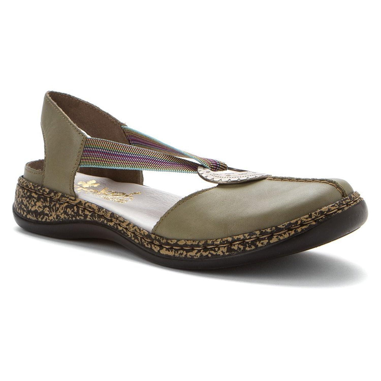 Rieker 46362 Women's Daisy Closed Toe Sandals