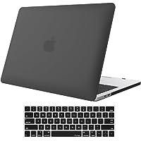 ProCase Funda Gomosa para MacBook Pro 13 A1989 A1706 A1708 (2018 2017 2016), Carcasa Dura Ultradelgada para MacBook Pro 13 Pulgadas con/sin Touch Bar y Touch ID –Negro
