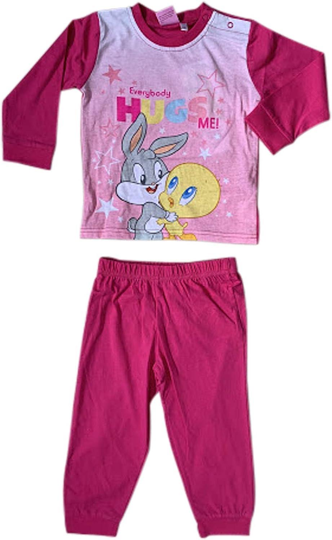 Looney Tunes Baby Tweety /& Bugs Bunny Pajamas Set for Infant//Baby Girls 2020