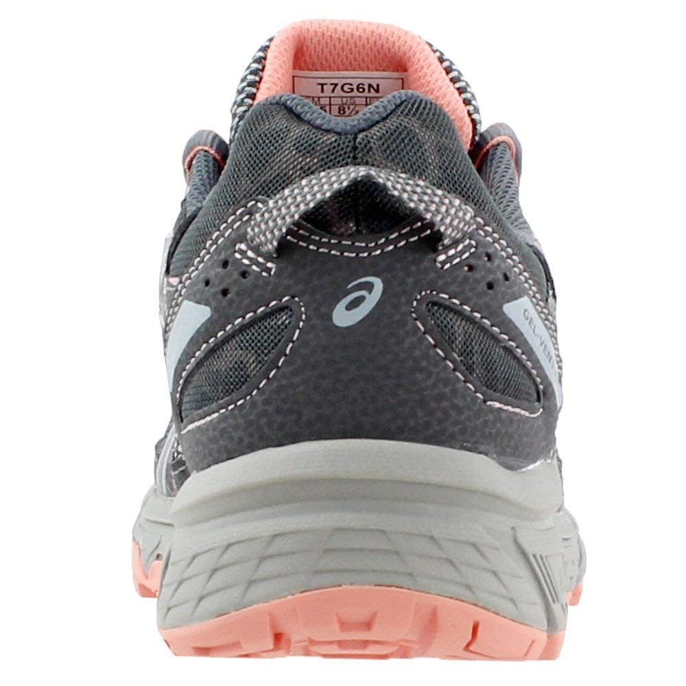 ASICS Gel-Venture 6 Women's Running Shoe, Carbon/Mid Grey/Seashell Pink, 5 M US by ASICS (Image #2)