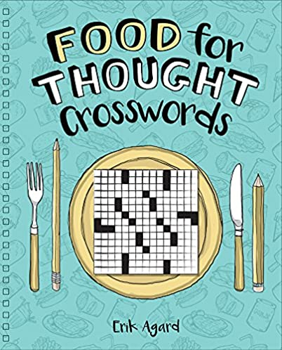 """Food for Thought"" Book of Crosswords"