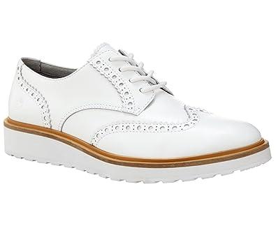 Timberland Ellis Street Oxford Grau, Damen EU 41 - Farbe Silver Damen Silver, Größe 41 - Grau