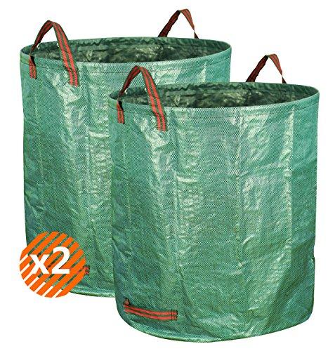 Gardzen 2-Pack 132gallons Gardening Bag