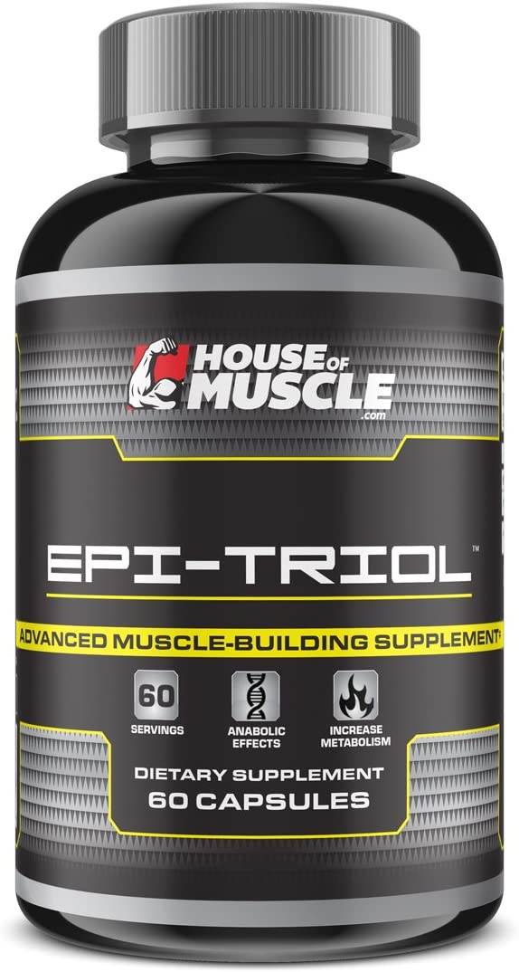 Epi-Triol – Advanced Muscle Building Supplement – 60 Capsules