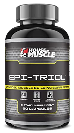 Epi-Triol — Advanced Muscle Building Supplement — 60 capsules