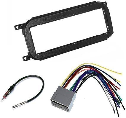 Amazon.com: JEEP WRANGLER 2002 - 2006 Car Stereo Install Dash Kit Radio  Wire Harness and Antenna Adapter: Car ElectronicsAmazon.com