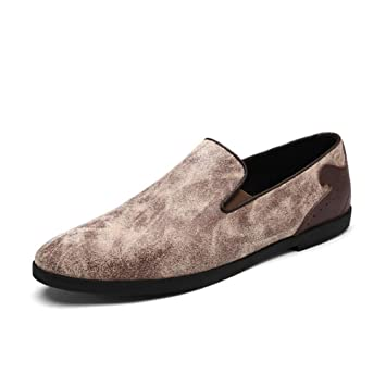 ac8065c54be10 Amazon.com: Men's Shoes Leatherette Spring/Fall Comfort Loafers ...