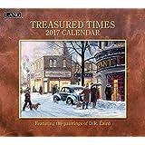 Lang 2017 Treasured Times Wall Calendar, 13.375x24-Inch