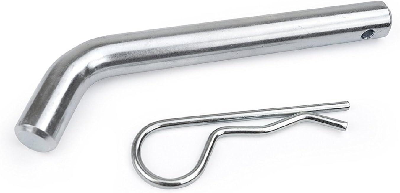 QUICK-LATCH Clip-Free Chrome Heavy Duty Hitch Pin Class III-IV 5//8-3-1//2 Span