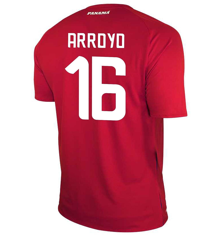 New Balance Men's ARROYO #16 Panama Home Soccer Jersey FIFA World Cup Russia 2018/サッカーユニフォーム パナマ ホーム用 アロヨ #18 B07D3G2TLLUS Medium