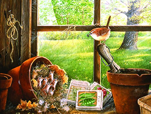 Garden Shed Seedlings 500 Piece Jigsaw Puzzle by SunsOut