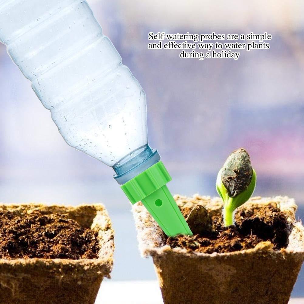 Automatischer Pflanzenbew/ässerer Bew/ässerungstropfer mit Steuerventilschalter Einstellbar Automatischer Pflanzenbew/ässerungsbew/ässerungsapparat Bl/ütenwasser-Tropfspitzen 4 STK