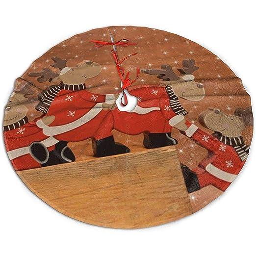 Sweeth Base Arbol Navidad,Navidad Falda del Árbol,Falda De Árbol ...