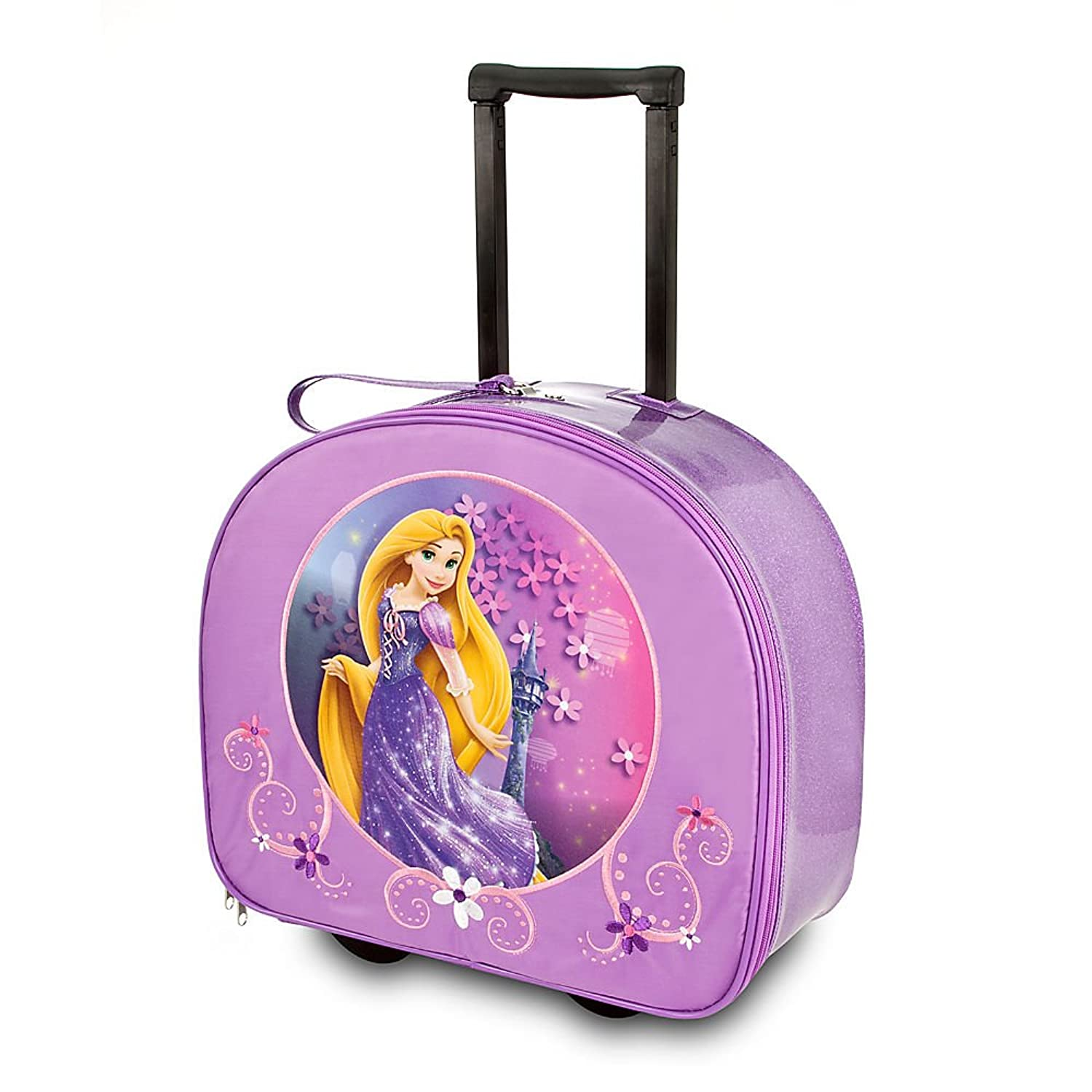 Girls Rolling Luggage