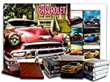 DA CHOCOLATE Candy Souvenir CHEVROLET Chocolate Gift Set 5x5in 1 box (Red Prime)