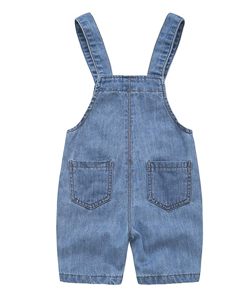 Mengyu Ni/ña Ni/ño Vaquero Peto Dungarees Overall Mono Pantalones Jeans