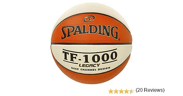 Spalding Tf1000 Legacy Sz.7 (74-542Z) Balón de Baloncesto, Hombre ...