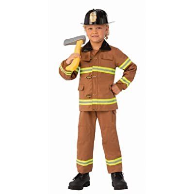 Rubie's Child's Junior Fireman Costume, X-Small: Toys & Games